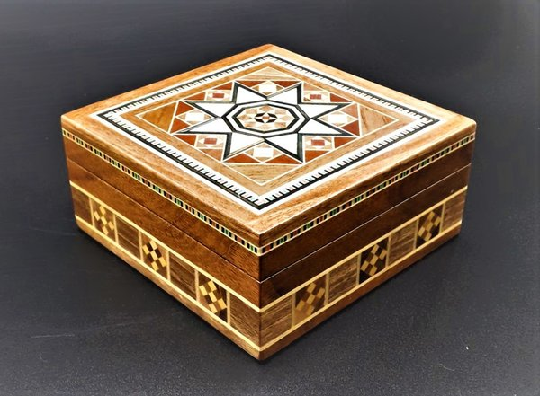 Small Square Jewellery Box 10 CM
